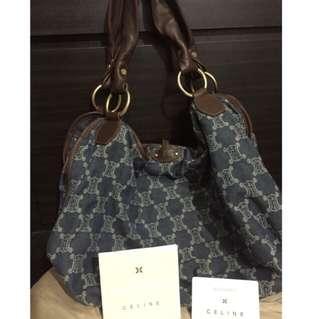 Authentic Celine Paris Macadam Bag