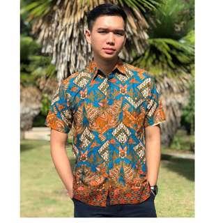 #OCT10 Short Sleeve Shirt Batik Hatta