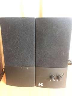 🚚 JS 淇譽J1116 二件式多媒體喇叭