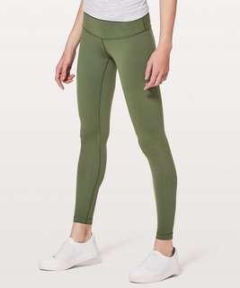 """8985ad602 Lululemon wunder under low rise tight full on luo 28"""""""