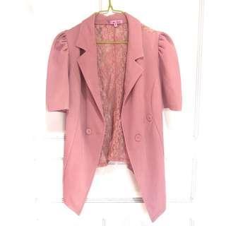Rose Pink Blazer