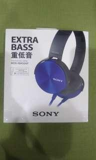 🚚 Extra bass headphone