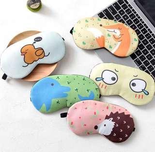 Cartoon Design Sleep Mask Travel Eye Mask with Ice Pack