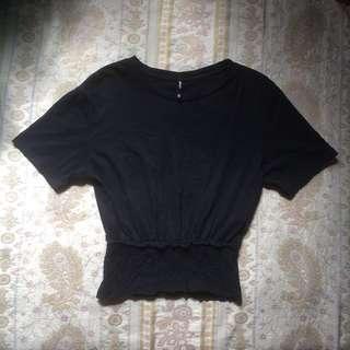 Sinsay Banded Hem Shirt