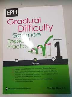 Science assessment book