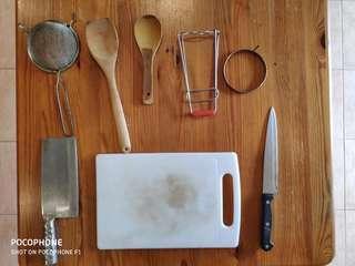 #MY1010 Wiltshire knife & Cutting Board