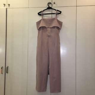 Old Rose Jumpsuit