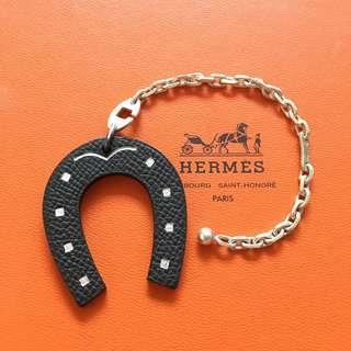 Hermes Charm 雙面馬蹄掛飾