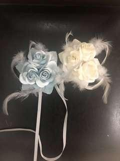Floral clip for hair or top(2 for 50)