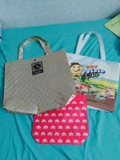Tote Bags - 3 pcs