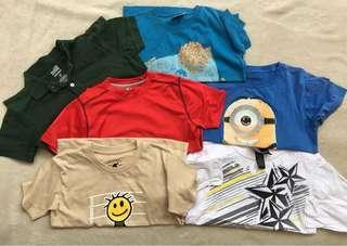 T-shirt Bundle for boys (7-9yo)