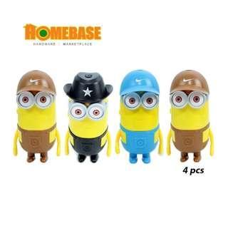 Homebase Mini USB fan Banana King 4 Pcs
