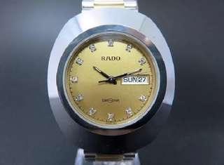 ORIGINAL RADO Diastar swiss 063 R12391633 for men