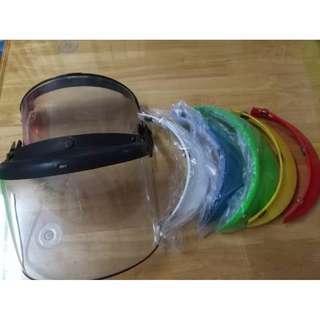 Vintage 5 Colour Cap Visor Helmet