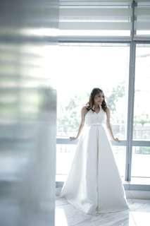 Custom Made Maternity Wedding Gown