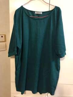 🈹️🈹️🈹️ LoHASHILL made in Korea 秋冬韓國墨綠色有型連身裙