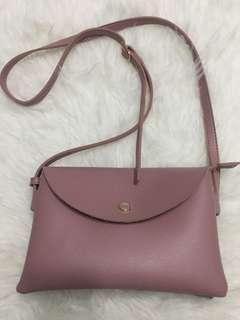 Tea rose sling bag