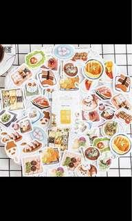 Food stickers!! 😍