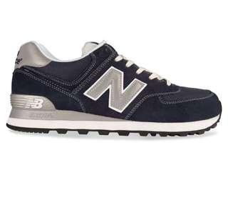 Genuine New Balance Navy Shoes barley worn