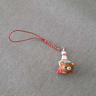 authentic rilakkuma phone charm