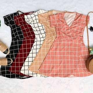Mayna stripes dress