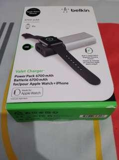 Belkin Apple Watch/IPhone Powerbank/Charger