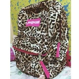 Leopard Print Jansport