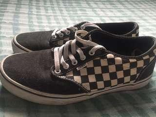 Van's Checkered Shoes