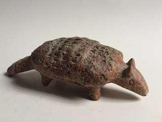 Vintage Colima Mexican Armadillo Pottery