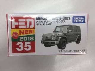 日版 TOMICA 35 Mercedes Benz G-Class