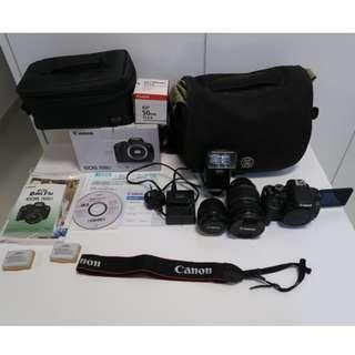 急放 Canon EOS 700D, EF-S 18-200mm f/3.5-5.6 IS, EF 50mm f/1.8 有盒有單齊配件