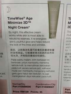 Timewise Age Minimized 3D Night Cream