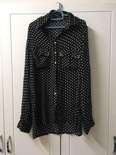 Polkadot Blouse #MY1010