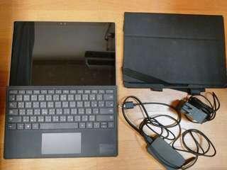 Surface Pro4 M3 128G 含鍵盤+原廠觸控筆 8成新