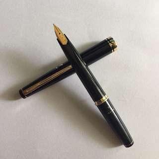 1960s Vintage Platinum Fountain Pocket Pen