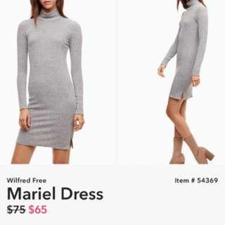 Aritzia Mariel dress (BRAND NEW SIZE M)
