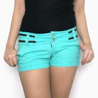 SALE! Aqua Blue Green Shorts