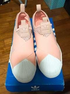 Superstar pink adidas sneakers