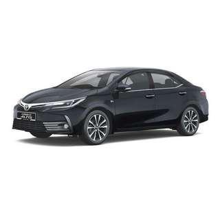 🚚 Toyota Altis CAR RENTAL