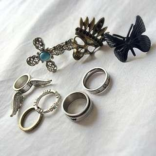 Misc Rings Size S