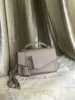 Charles and Keith Sling Flap Bag