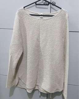 H&M Long Sleeves Knit-like Shirt