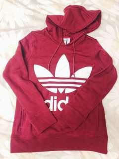 Adidas Maroon Hoodie