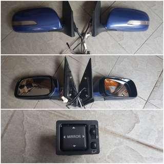 Side mirror Signal Panjang Autoflip Myvi Passo