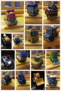 15 Robocar cast toys