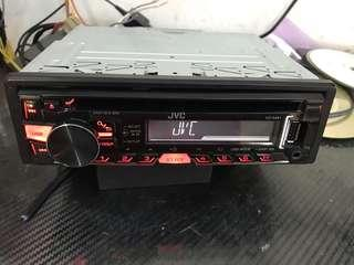 JVC CD/MP3/USB Player
