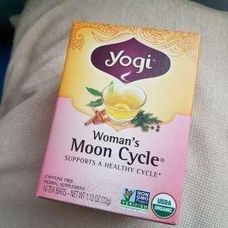 Yogi Tea Woman's Moon Cycle  天然有機草本茶 (幫助女性的健康週期)  Caffeine Free