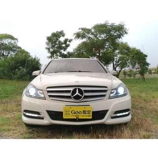 ▶▶ M-Benz 11年C200 旅行式 白 ◀◀