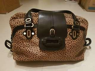 Jimmy Choo Pony Hair Bowling Bag