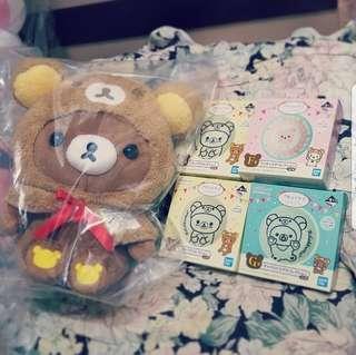 鬆弛熊一番賞 - Rilakkuma Kuji sets